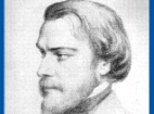Thumbnail: pencil drawing portrait of Frederic Ozanam.