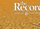 Thumbnail: The Record, background autumn leaves.