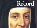 Thumbnail: The Record, image of a medieval nun.