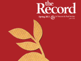 Thumbnail: The Record, yellow leaves on a red background.