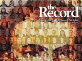 Thumbnail: The Record, portrait of Frederic Ozanam and faces of Vincentians superimposed.