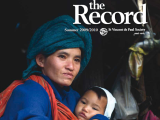 Thumbnail: The Record, image of woman and child.