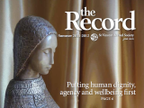 Thumbnail: The Record, carving of Mary.