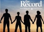 Thumbnail: The Record, silhouettes of four people holding hands.