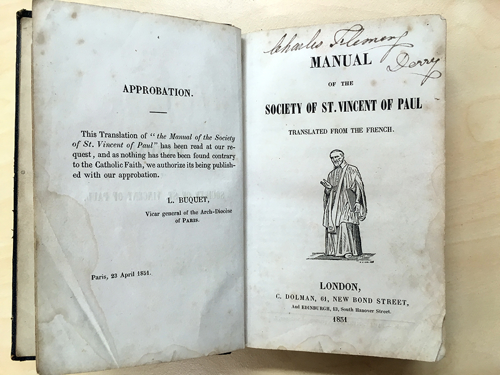 Title page of the Manual.