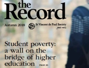 The Record: Student poverty: a wall on the bridge of higher education.