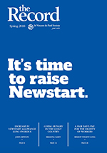 The Record | cover It's time to raise Newstart