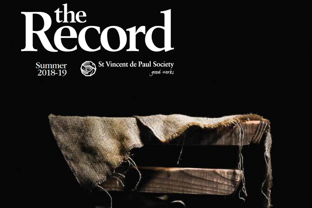 Cover: The Records Summer 2018-2019, St Vincent de Paul Society