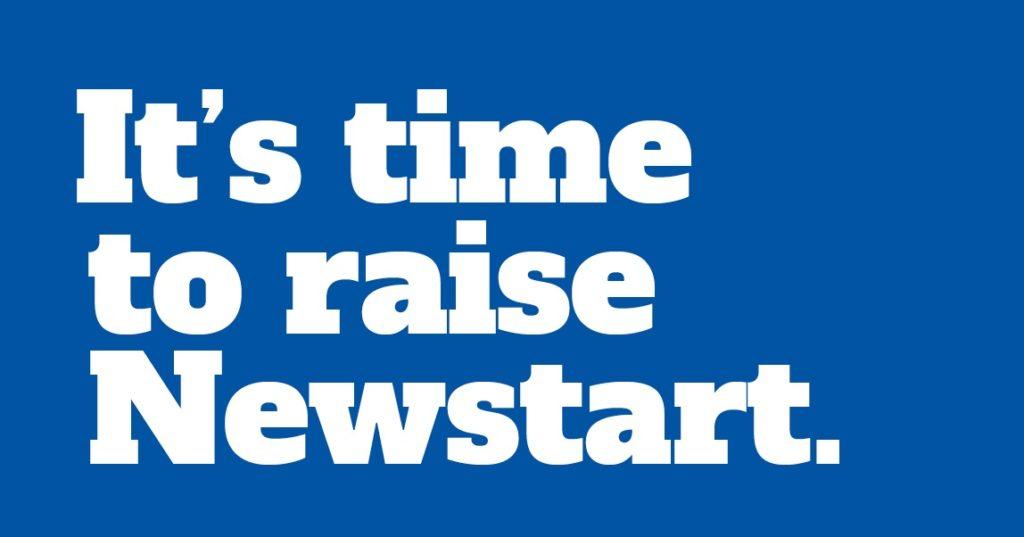 It's time to raise Newstart.